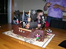 pirate ship cake pirate ship cake 9 steps with pictures