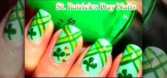 how to paint st patrick u0027s day nail art nails u0026 manicure