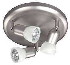 Pewter Ceiling Lights Canarm Ltd Icw356a03bpt10 3 Bulb Ceiling Wall Light