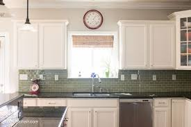 popular painting kitchen cabinets white with stove and blue