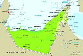 World Continent Map Map Of United Arab Emirates Maps Worl Atlas United Arab