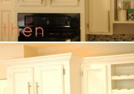 Crown Molding Ideas For Kitchen Cabinets Excellent Inspiration Ideas Kitchen Cabinet Molding Adding Crown