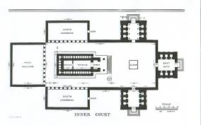 Floor Plan Of A Church by Page 13 Floor Plan Of The Inner Court King Solomon U0027s Temple By
