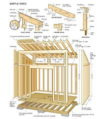 free shed plans building easier with my wood house plan 10x12