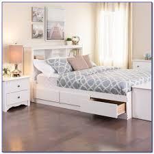 Bookcase Headboard Queen Queen Bed With Bookcase Headboard Australia Headboard Home
