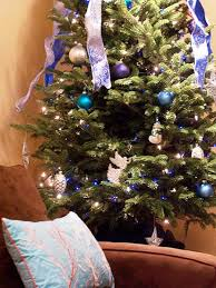 Blue And Brown Christmas Tree Decorations by Golden Yellow Decorations And Ideas Christmas Decor Trends 2012