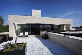 architecture outdoor modern home in seville spain designed by a