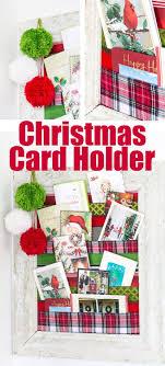Birthday Card Holder Diy Greeting Card Display Repurposed Cutting Board Christmas