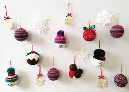 handmade crochet christmas decorations b l u e b e r r y z i n g