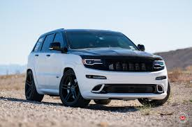 jeep cherokee white with black rims black top jeep grand cherokee srt on vfs5 wheels by vossen u2014 carid