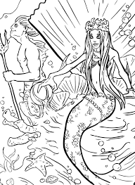 siren coloring free siren coloring picture 1
