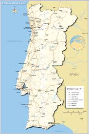 Map Of Southern Europe by A Map Of Portugal Travel Europe Pinterest Portugal Spain