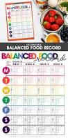 weight loss planner template best 25 food journal printable ideas only on pinterest meal balanced food tracker