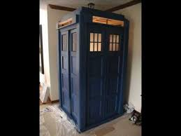 building the tardis from scratch youtube