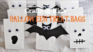 halloween ghost crafts 3 halloween treat bags crafts for kids pbs parents youtube