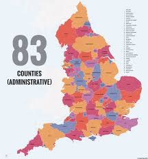 England On Map 40 Ways To Carve Up England Big Think