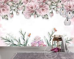 flower wall murals interior design online get cheap flowers wall murals aliexpress com alibaba group