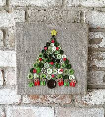burlap button tree by theblueboottx on etsy the