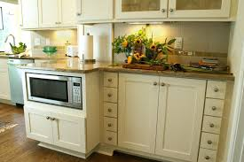 Kitchen Cabinet Microwave Shelf Where To Put The Microwave In Your Kitchen