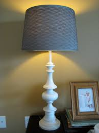 remodelaholic from brass to white table lamp revamp guest project