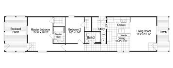 cabana plans the cabana iv sm1672c manufactured home floor plan or modular floor