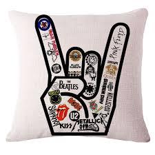 beatles home decor modern fashion designer rock men plain decorative chair sofa