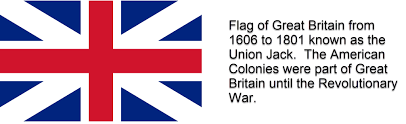 Colonial British Flag Hairston Capt Robert Hairston