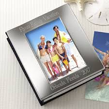 personalized album engraved silver photo frame album personalized free