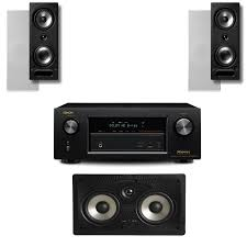 av receiver home theater safeandsoundhq denon avr x2300w av receiver with polk audio 265