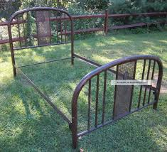 bed frames antique iron bed value dating antique iron beds how