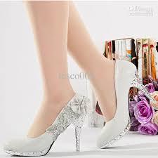 bridesmaid heels glitter silver 10cm bridal high heels shoes wedding bridesmaid