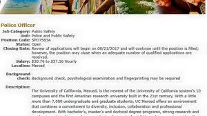 university of california merced police department posts facebook