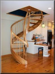 Helical Staircase Design Lovable Helical Stairs Design Wooden Spiral Stairs Custom Made