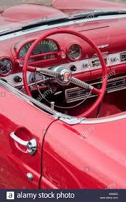 pink car interior 1950s car interior stock photos u0026 1950s car interior stock images