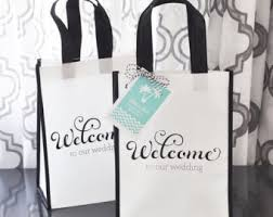 wedding guest bags wedding welcome bags etsy