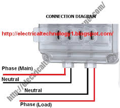 single phase meter wiring diagram wiring diagram and schematic