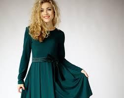 green dress etsy