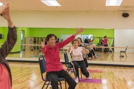 Armchair Yoga For Seniors Tucson J U0027s Program Variety Is Boon For Seniors Az Jewish Post
