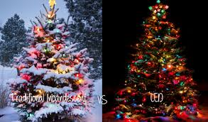 led christmas tree lights what is the difference between led and incandescent lights really