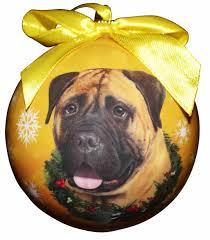 bullmastiff ornament shatter proof easy