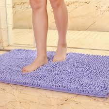Microfiber Bathroom Rugs 40x60cm 15 X23 Microfiber Bath Mat Soft Comfortable Material
