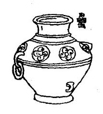 Face Vase Drawing Early Chinese Bronzes