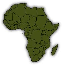 Basic World Map by Clipart Basic Africa Map