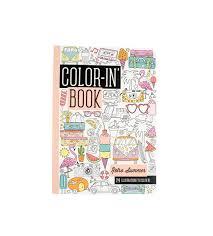 amazon com ooly color in u0027 book travel size retro summer 24