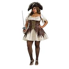 plus size costumes for women buccaneer womens plus size costume