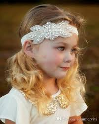 flower girl hair accessories new hair band kids flower girl headdress european and