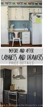 Kitchen Cabinet Detail Custom Diy Kitchen Doors And Cabinets All The Details On The