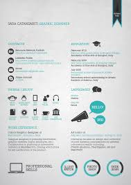 Graphic Design Job Description Resume by 50 Awesome Resume Designs That Will Bag The Job Cv Pinterest