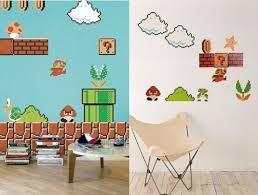 Super Mario Bedroom Decor Super Mario Wall Decals Roselawnlutheran