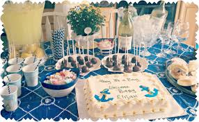 baby shower table decoration ideas for boy baby shower table